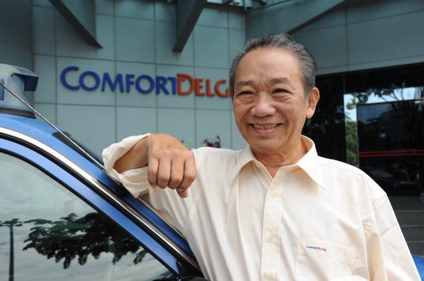 Честный таксист Sia Ka Tian
