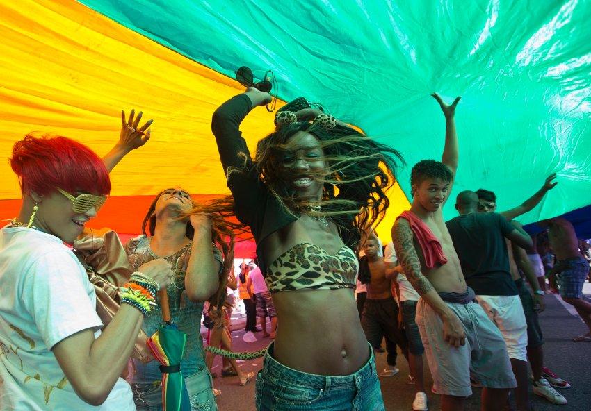 Гей-парад в Рио