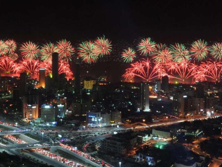 Фейерверк в Кувейте
