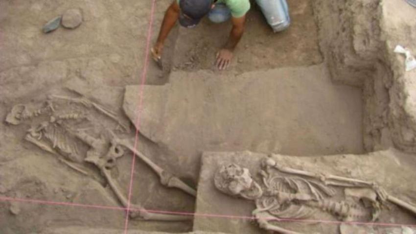 Всего на древнем кладбище было найдено 25 скелетов