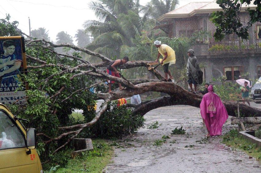 "Тайфун ""Бофа"" на Филиппинах"