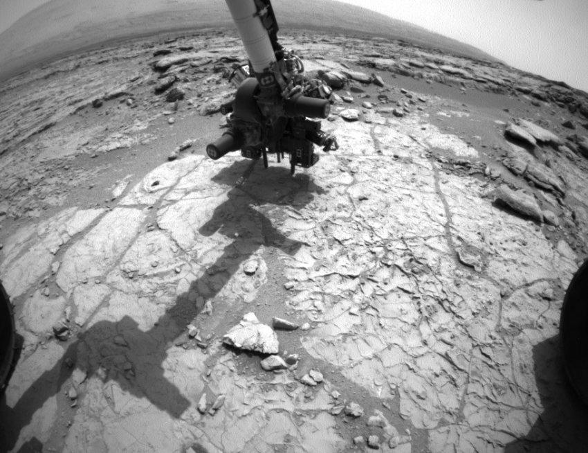Марсоход впервые использовал свое сверло