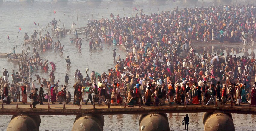 Праздник Kumbh Mela