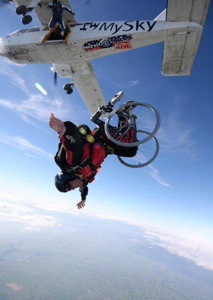 Безумные прыжки Эрика Ронера