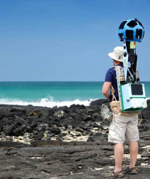 Сотрудники Google на Галапагосских островах