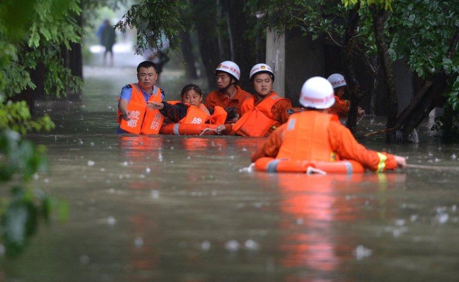 Непогода в Китае