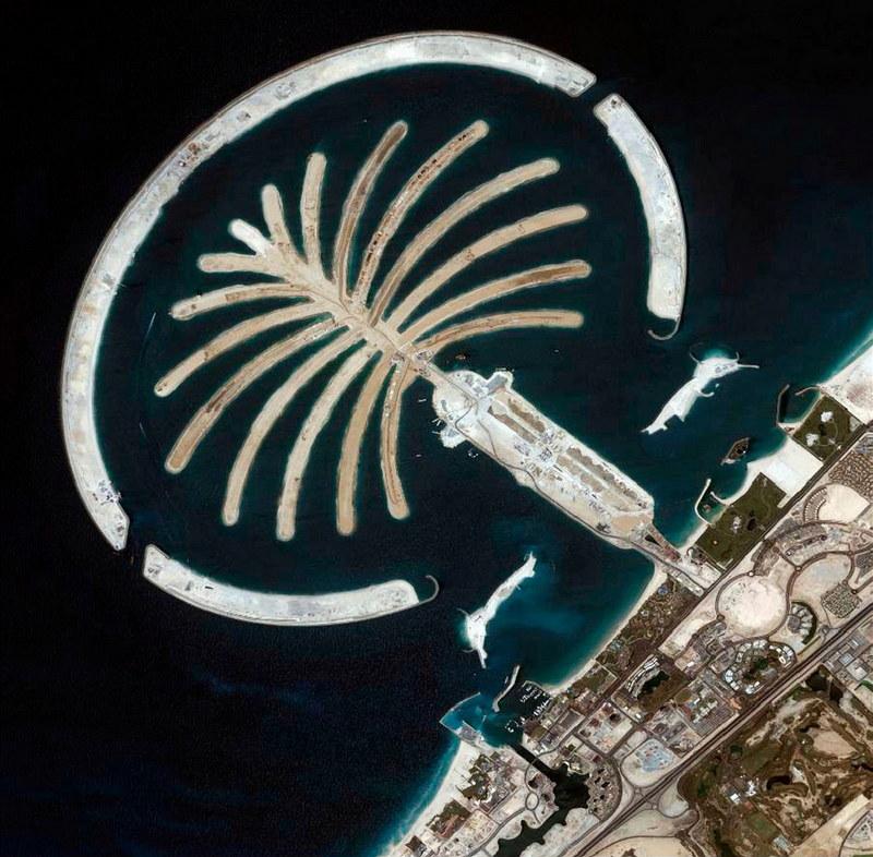 искусственные острова в дубае фото из космоса утверждают, что