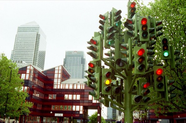 Дерево - светофор