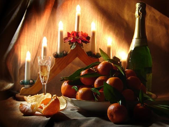 Новогодние заговоры на блюда