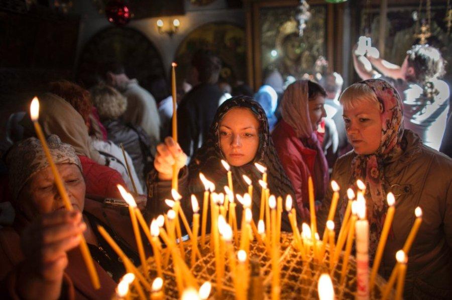 Рождественская служба в Вифлееме