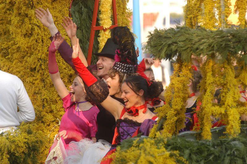 Фестиваль мимоз
