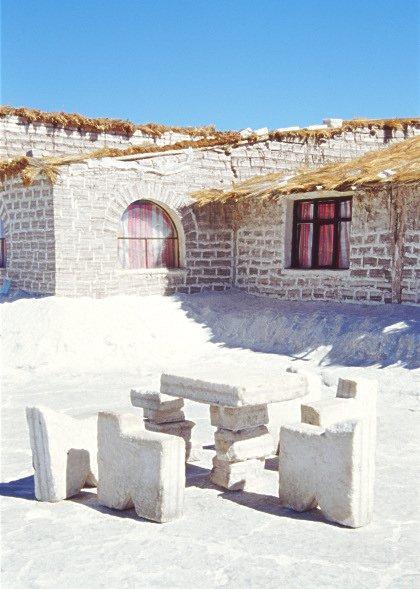 Гостиница из соли