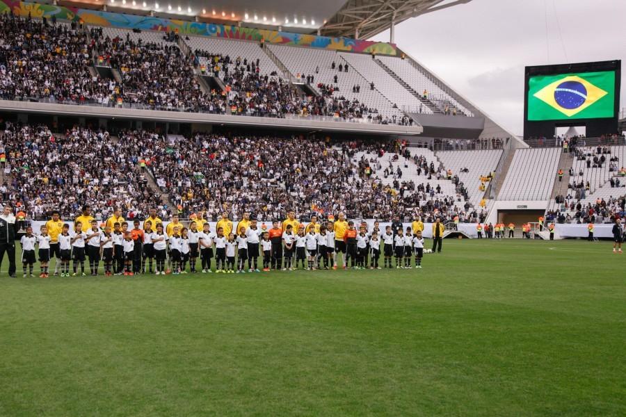 Новый стадион в Сан-Паулу