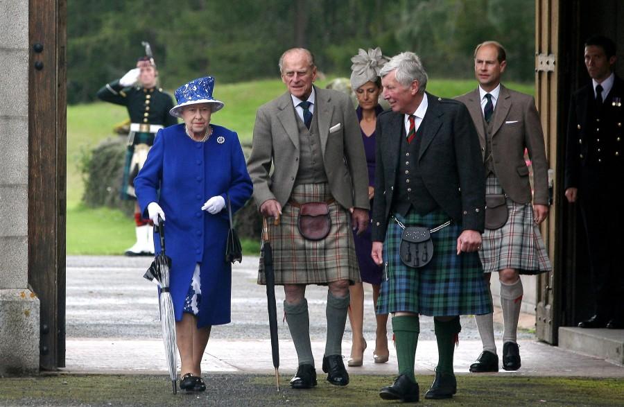 Королева в Шотландии