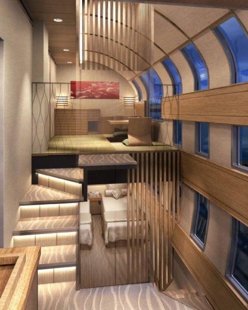 Поезда-отели в Японии
