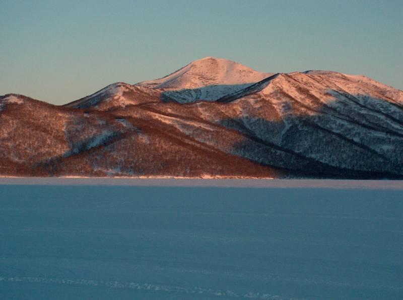 Камчатское озеро Большой Калыгирь